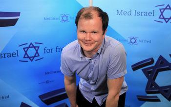 Med Israel for Fred med dansk fotfeste